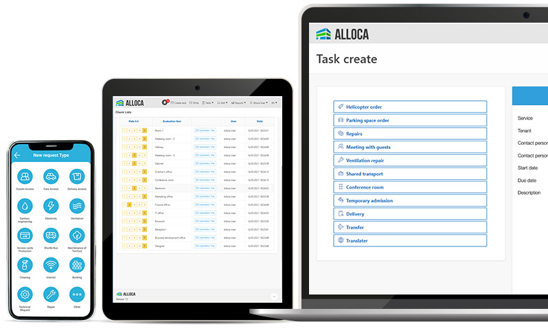 Alloca interface on different devices